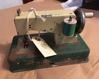 Toy Sewing Machine Made In West Germany
