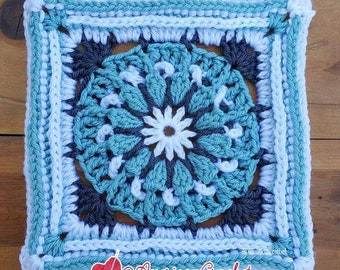 Faith Circle in A Square Crochet Pattern