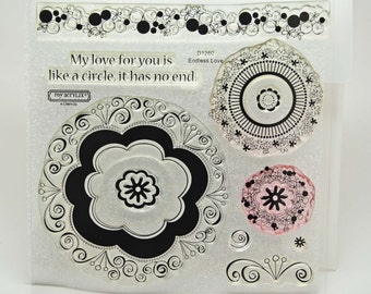 DESTASH Endless Love Acrylic Stamps -- My Acrylix -- Close To My Heart