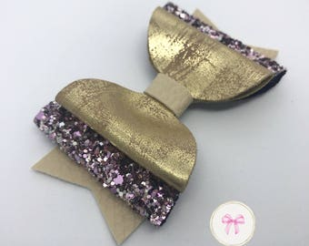 Glitter Hair Bow, Handmade Hair Bow, Hair Bows and Clips, Hair Bows for Girls, Hair Clips, Toddler Bows, Big Bows, Bows