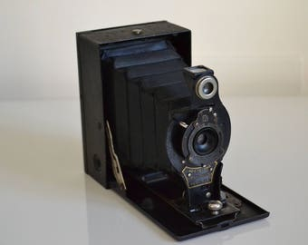 Antique Camera Eastman kodak Hawk-eye Nº2, 1910.