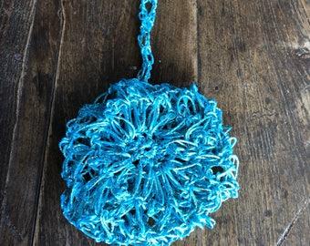 Dreaming in Blue Hair Bun
