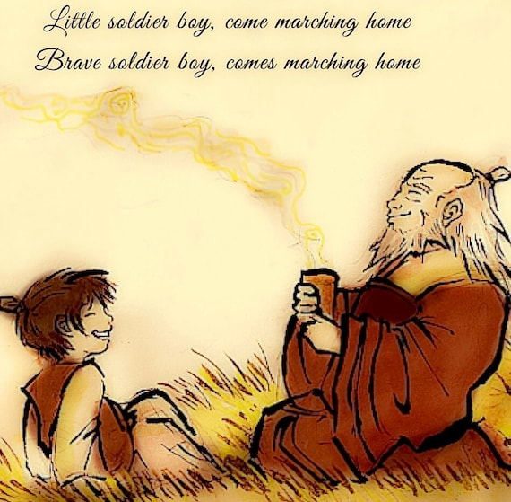 Avatar 2 Yet: Avatar The Last Airbender Uncle Iroh Little Soldier Boy