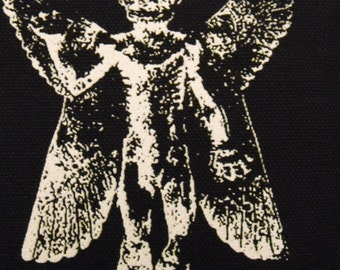 PAZUZU patch demon satan devil pentagram exorcist horror metal punk Free Shipping