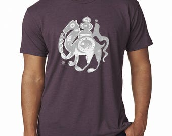 Touareg - A Medieval Camel T-Shirt by The Arabesque