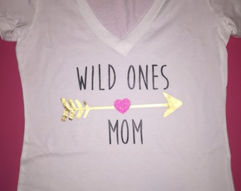 Wild ones mom moms shirt