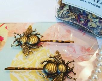 Bumblebee Hair Pins Bobby Pins