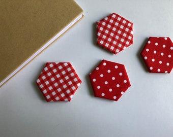 Picnic and Polka Dot Magnets