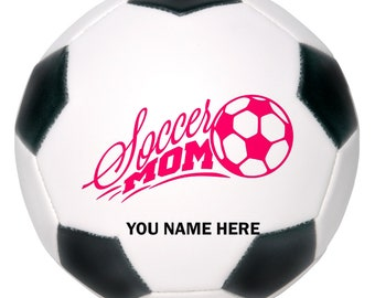 Soccer Mom, Personalized, Soccer Ornament, Soccer Decor, Gift for Mom, Mothers Day Gift, Mom Gifts, Gift for Her, Mum, Soccer Coach Gift