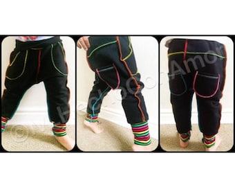 Baby harem pants, Kids jogger pants, boy harem pants, girl harem pants, Toddler harem pants, baby pants, girl pants, boy pants, yoga pants