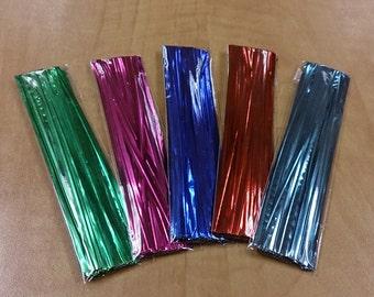 350 Multi-Colour Foil Twist Ties
