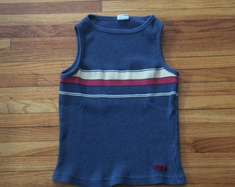 Vintage Union Bay 90's Striped Tank Top Shirt