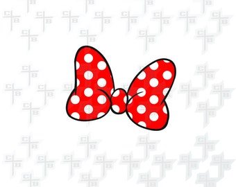 cute Disney Minnie Mouse Bow svg Hipster Svg PNG Files Svg Files for Silhouette Cameo Svg Files for Cricut Files for Girls