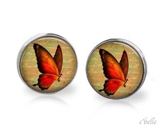 Earrings Butterfly 14