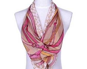 Womens Scarf, Purple Scarf, Brown Scarf, Leopard Print Scarf, Floral Print Scarf, Chiffon Scarf, Voile Scarf, Cotton Scarf, Fashion Scarf