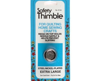 Safety Thimble by Collins ~ Size Extra Large ~ Item # W-144