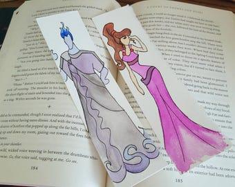 Hercules Minimalist Watercolor Bookmark