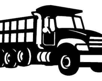 Dump Truck SVG