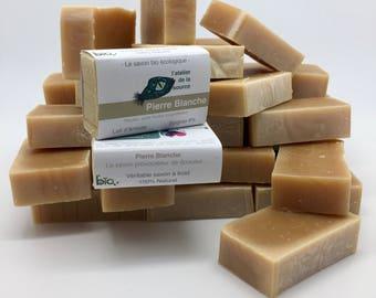 SOAP 100g white stone