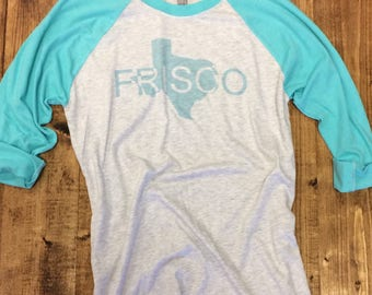 Frisco, TX 3/4 Sleeve T-Shirt