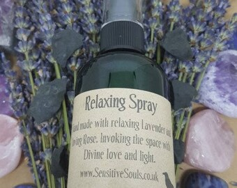 Relaxing Spray 100ml. Aids sleep and meditation