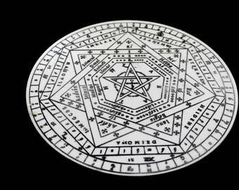 Sigillum Dei Aemeth | Enochian Magic | Enochian Magick | Seal of God | John Dee (3)