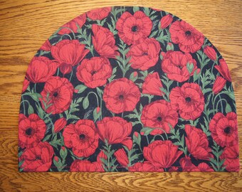 Large Tea Cozy Cover: Poppies