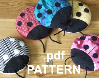 Boo-Boo Bug Ladybug hot cold Therapy pack PATTERN download