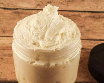 Whipped Body Butter, Natural Body Butter, Vegan Body Butter, Body Butter, Natural Lotion, Vegan Lotion, Lotion, Fragrance Free, Body Lotion