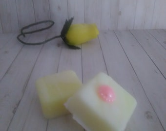 Scented Wax Melts - Shabby Chic Bar - Home Fragranced - Scented Bar Shape Candle Melt -4 Pack