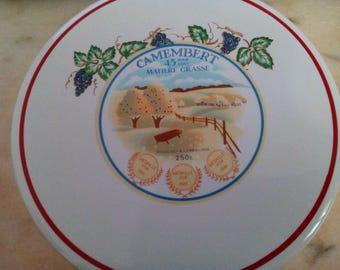 Camembert porcelain lid