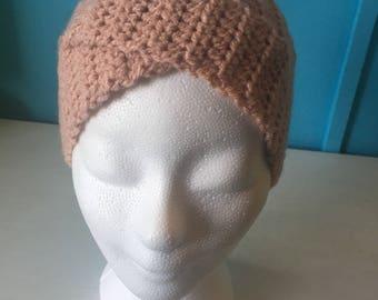 Beige headband Twist