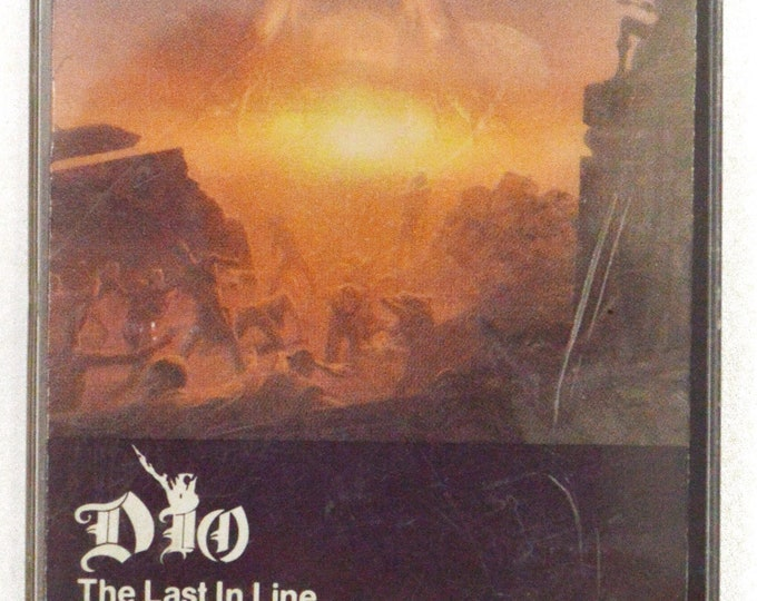 Vintage 80s Dio The Last in Line Heavy Metal Album Cassette Tape