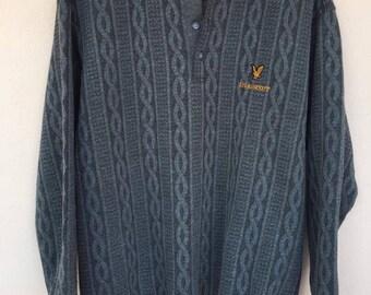Rare!! Vintage Lyle & Scott Sweatshirt design