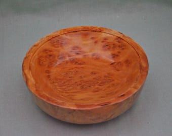 Brown Mallee burl wood Bowl