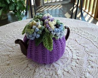 DAHLIA DELIGHT Handmade Tea Cozy for 4 to 6-cup Teapot