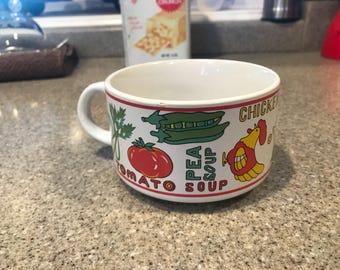 Vintage Soup Bowl