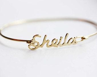 Vintage Name Bracelet - Sheila