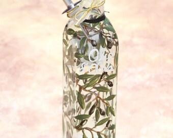 1/2 ltr. olive oil bottle