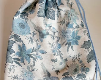 Bag/Pyjamazak/Projectbag Blue Garden