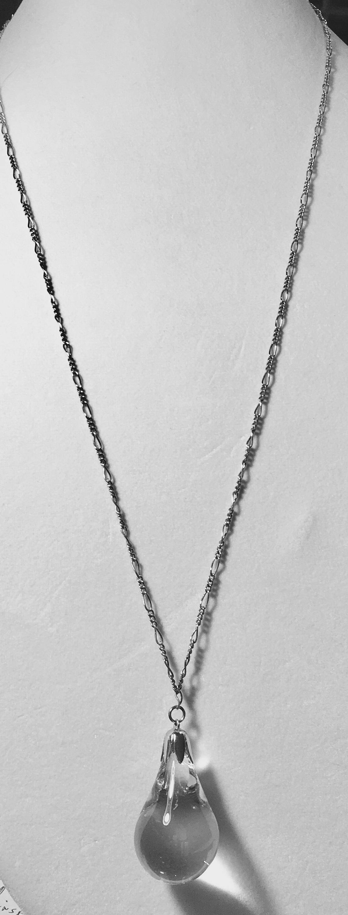 pin ball gold necklaces dainty pave crystal products necklace