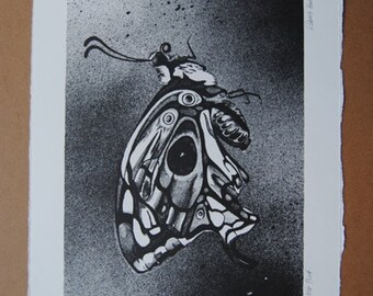 Butterfly Artist Proof Lithograph