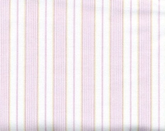 Fabric white pale pink stripes Cotton Fabric House textilies Fabric Scandinavian Design Scandinavian Textile