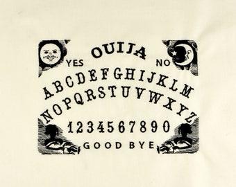 Ouija board 5x7 machine embroidery design