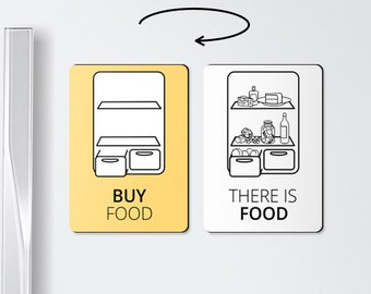 Food magnets - BUY FOOD - useful gifts, kitchen magnets, board magnet, fridge magnets, food gifts, magnet board, food magnet