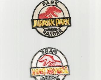 "Jurassic Park - ""Park Ranger"" Iron-On Clothing Patch"