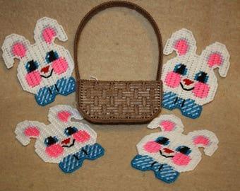 Bunny is a basket coaster