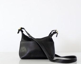 vintage Coach leather purse, cross body satchel