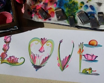 Flower themed name