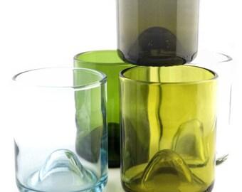 Wine Bottle drinking glasses - Wine Punts